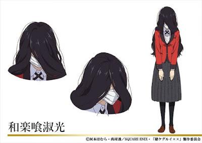 """segunda temporada de """"Kakegurui"""""""