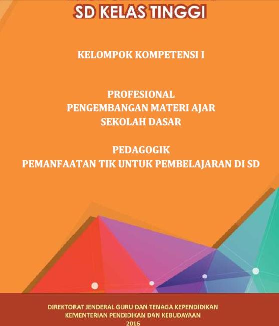 Download Modul Materi Ukg Sd Kelas 4 6 Kelompok Kompetensi I