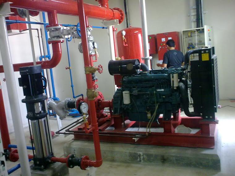 Cv Cahaya Prima Mandiri  Pompa Hydrant Control Panel