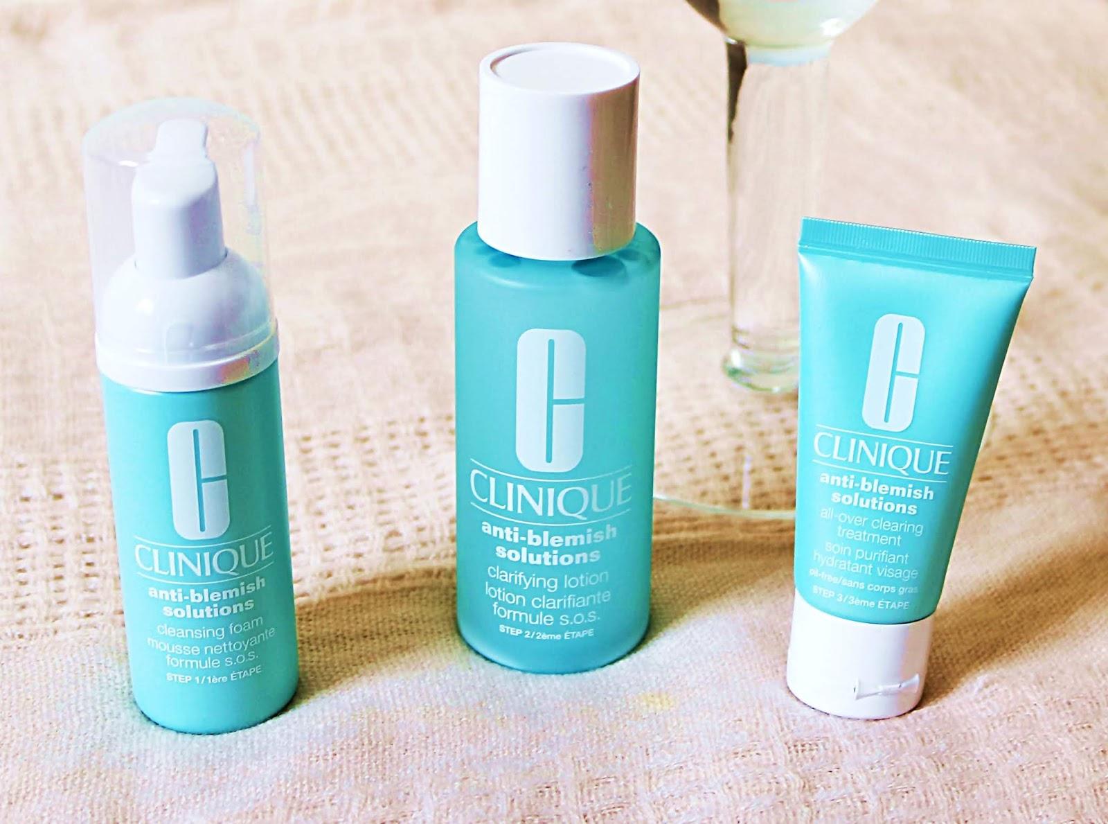 CLINIQUE - Anti-Blemish Solutions | kosmetyki zwalczające niedoskonałości skóry