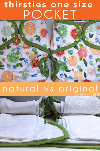 How Does the Thirsties Natural Pocket Compare to the Original Pocket Cloth Diaper?