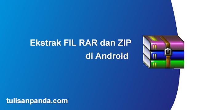 cara membuka file rar di smartphone android