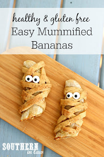 Easy Mummified Bananas Recipe for Halloween