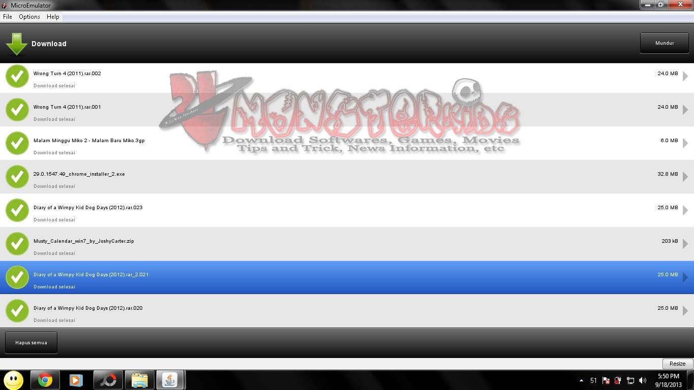 March 2013 MonsterKids