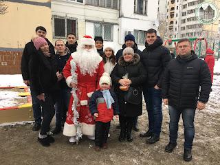 Урочисте відкриття нового дитячого майданчика за адресою: вул. Миропільська, 37В