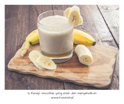 smoothie pisang jahe