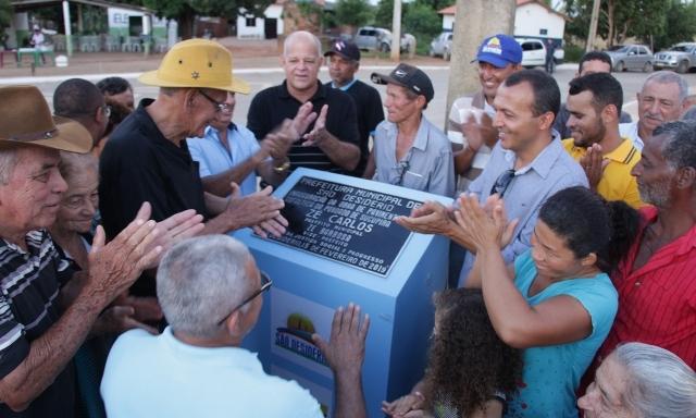 Prefeitura de São Desidério inaugura pavimentação asfáltica na comunidade de Sucupira