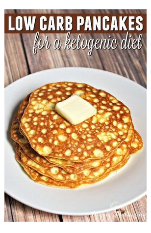 Low Carb Pancakes for the Ketogenic Diet
