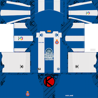 Espanyol 2018/19 Kit - Dream League Soccer Kits