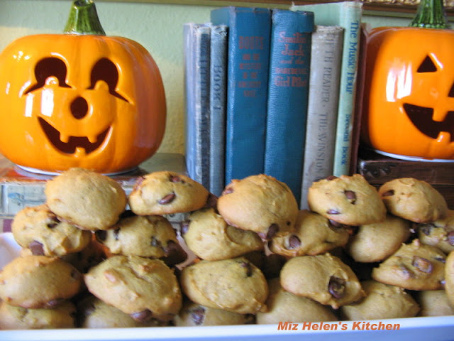 Pumpkin Chocolate Chip Cookies at Miz Helen's Country Cottage