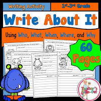 Write About It using who what when where why