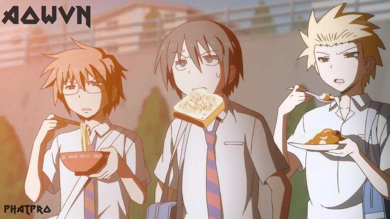 Danshi%2B %2BPhatpro%2B%25281%2529 min - [ Anime 3gp Mp4 ] Danshi Koukousei No Nichijou + SP | Vietsub - Học Đường Cực Hài Và Bựa