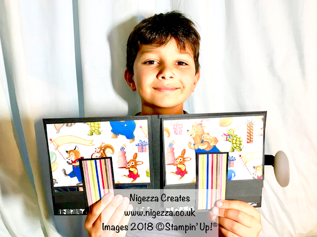 Crafting with William: Waterfall Photo Album Nigezza Creates