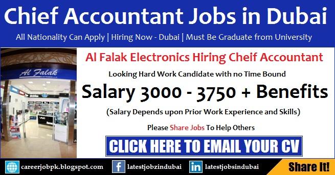 Accounting Jobs in Dubai Salary