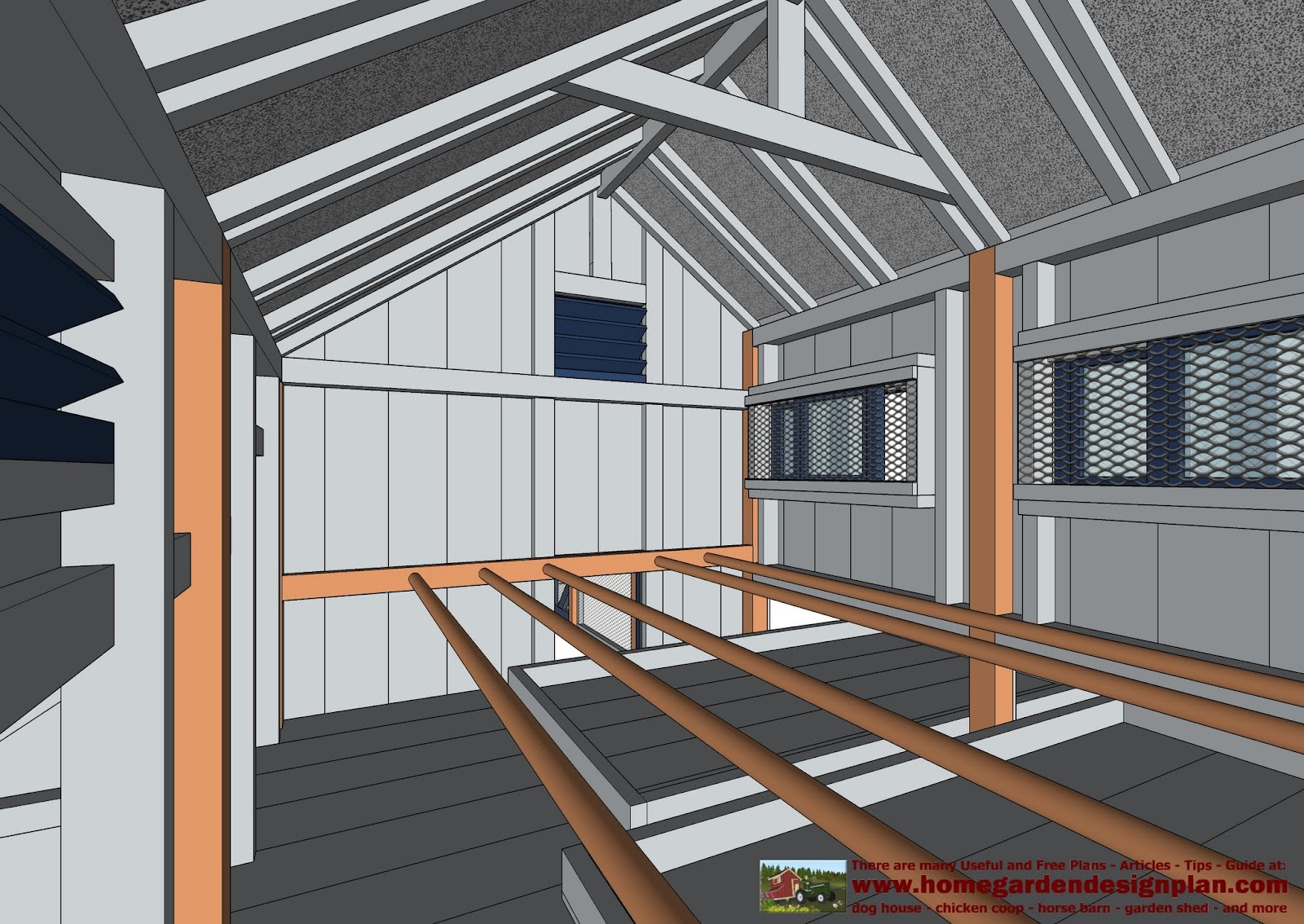 Home Garden Plans L200 Large Chicken Coop Plans How