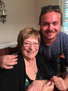 Betty Morton with grandson JR