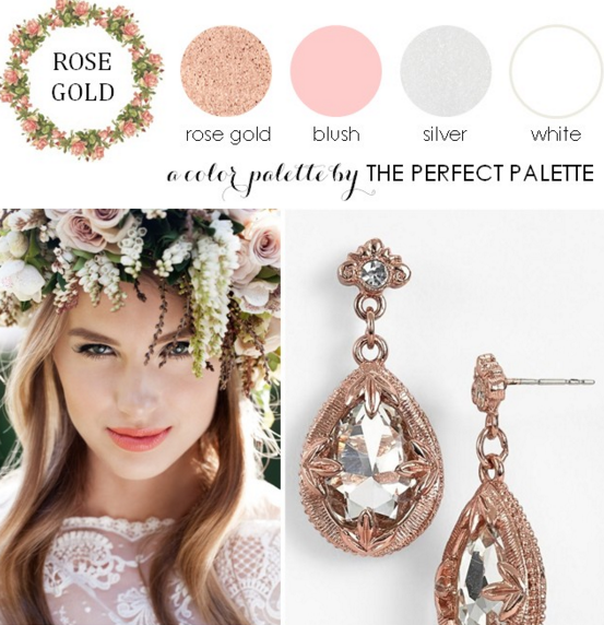 18dbfdb82e Now Trending  Rose Gold and Blush Wedding Ideas