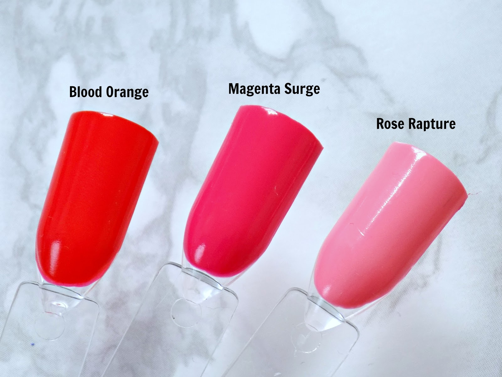 Maybelline super stay gel nail colour blood orange