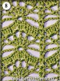 Patrón #808: Punto Calado a Crochet