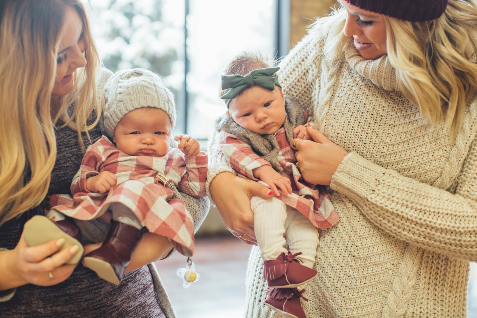 Baby Style, Plaid Dress, Utah Fashion Blogger