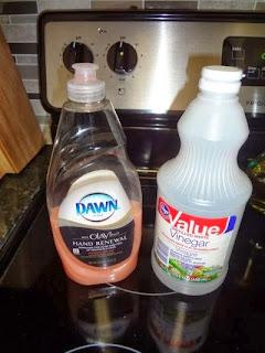 diy vinegar and dawn cleaning