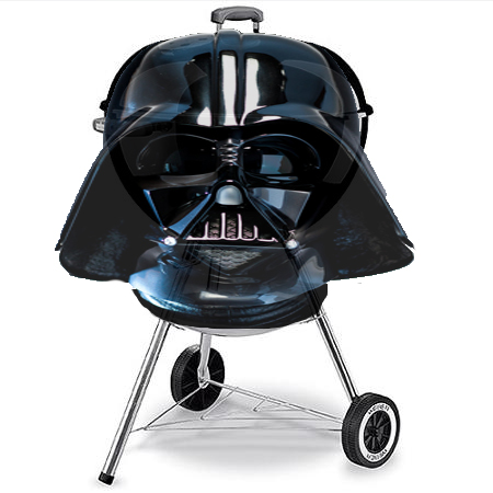 dear rich an intellectual property blog darth vader bbq grill. Black Bedroom Furniture Sets. Home Design Ideas