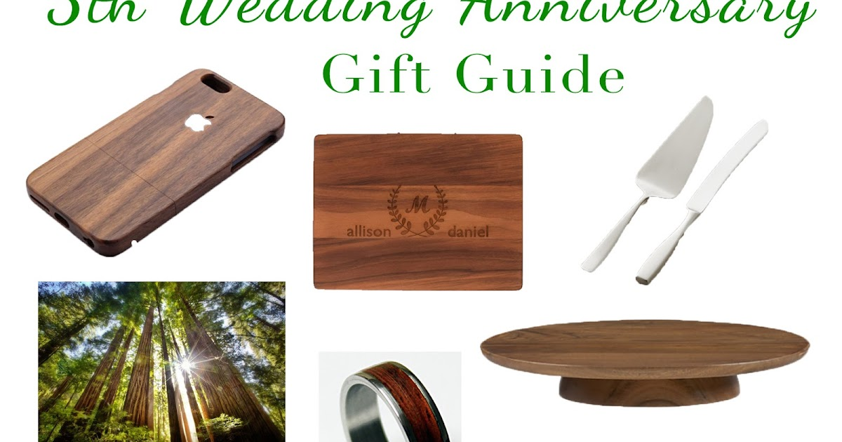 Wedding Anniversary Gift Guide: The Adventure Starts Here: 5th Wedding Anniversary Gift Ideas