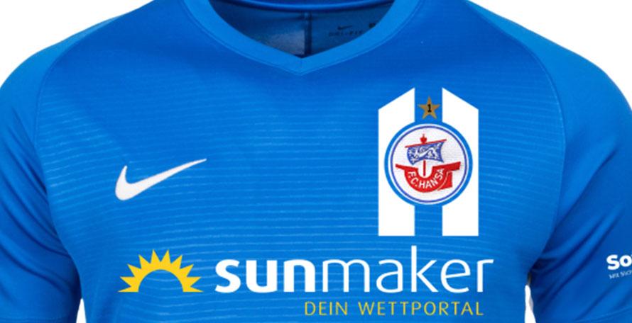 Bespoke Nike Hansa Rostock 19 20 Home Away Third Kits Released Footy Headlines