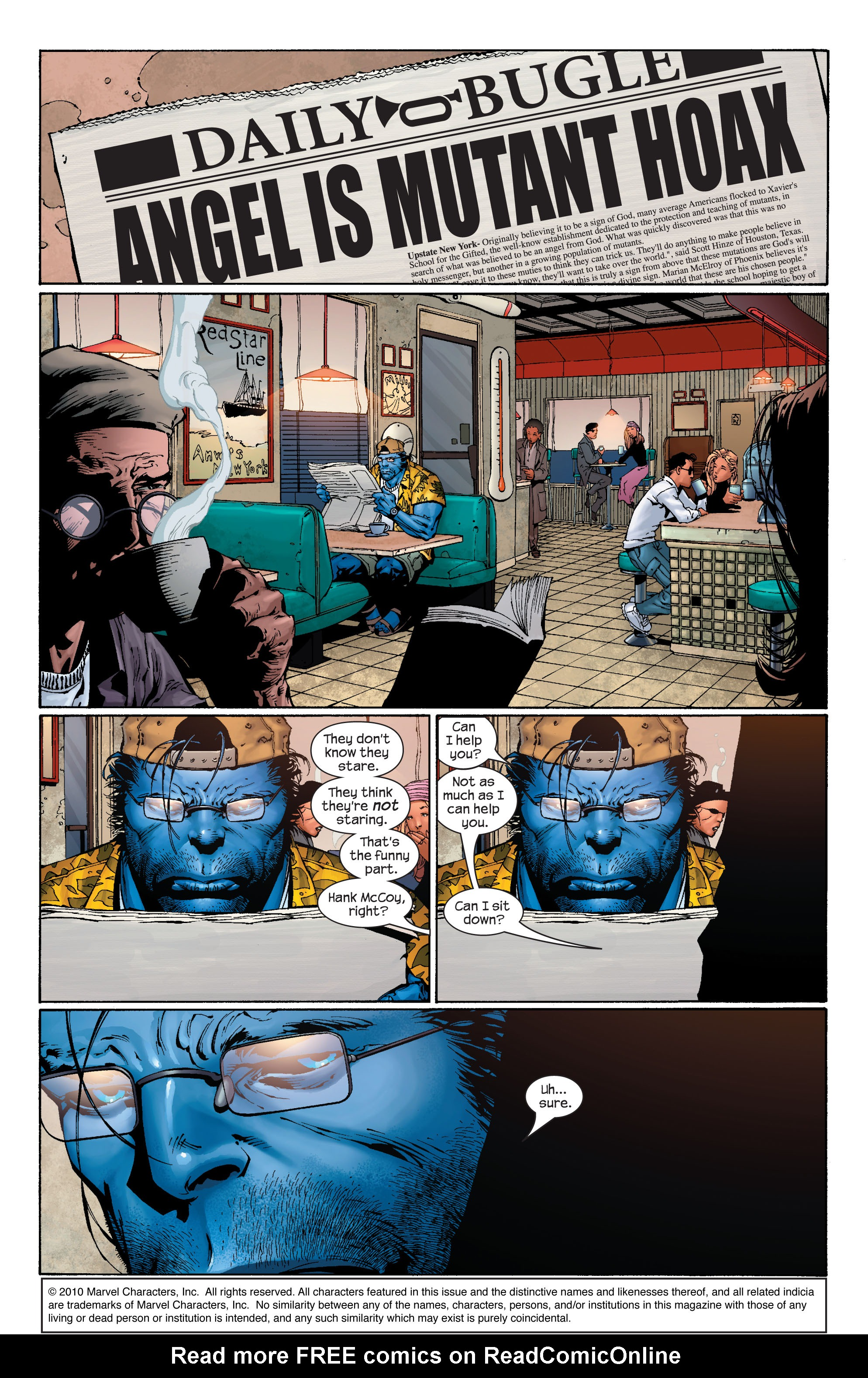 Read online Ultimate X-Men comic -  Issue #40 - 21