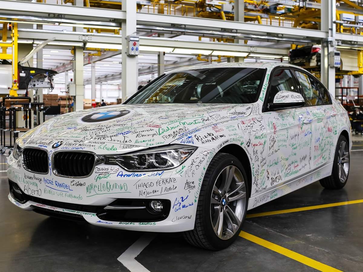 BMW Série 3 Blindada de Fábrica