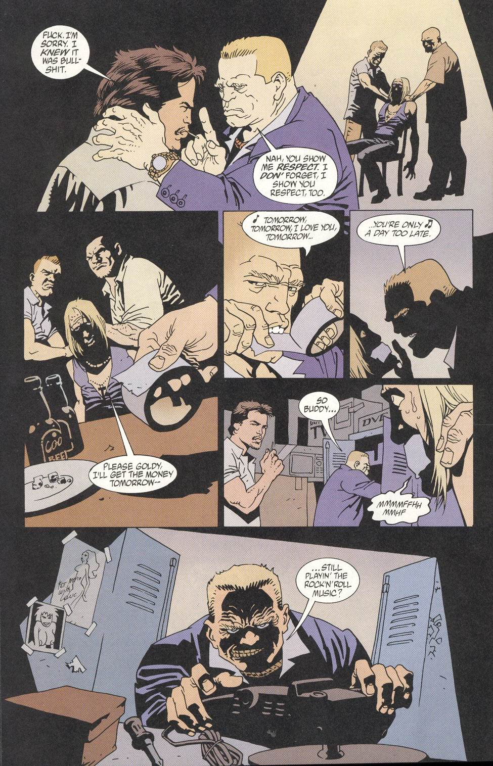 Read online 100 Bullets comic -  Issue #9 - 20