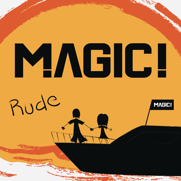 MAGIC! - Rude - Single Cover