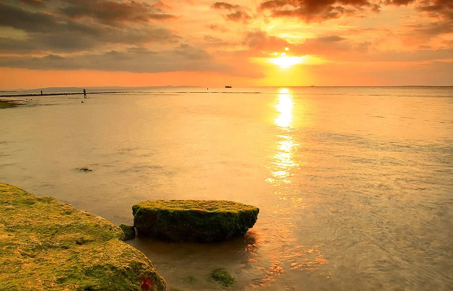 Indonesia Sungguh Indah Senja Senja Di Pesisir Pantai Kupang