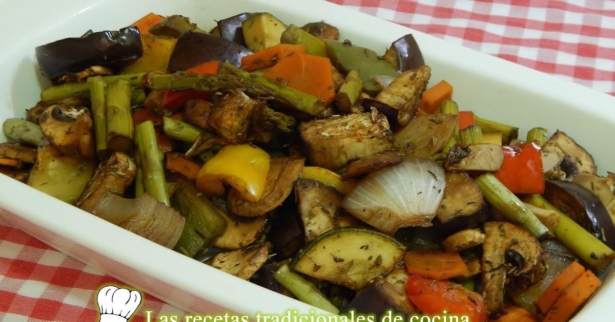 Cómo hacer verduras asadas sin aceite - Recetas de cocina