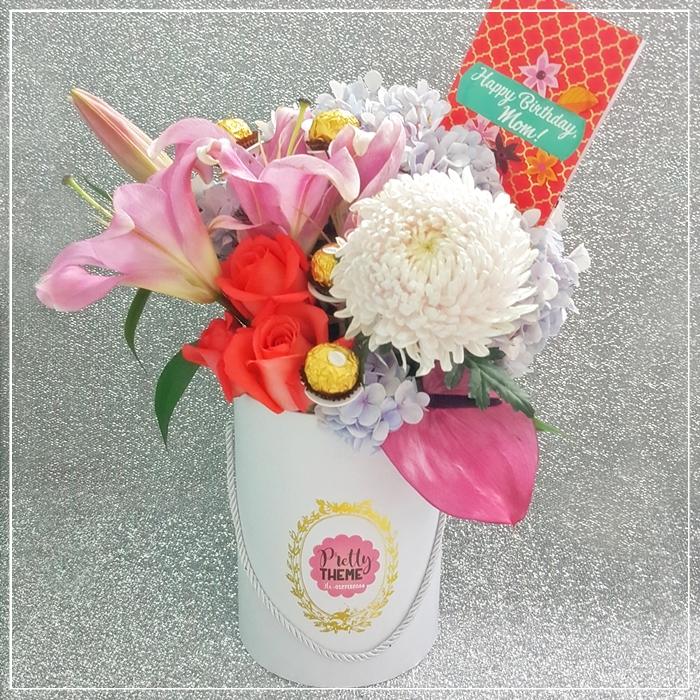 Pretty Theme Event Planner: Convocation Bouquet