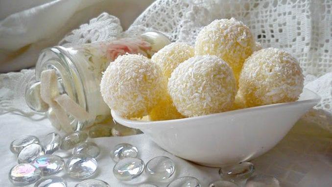 Mlečne kokos kuglice