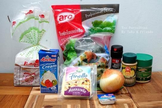 สูตรการทำ ขนมปังหน้าผักโขมอบชีส