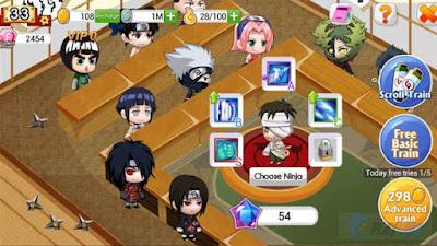 Game Ninja Heroes Mod Apk
