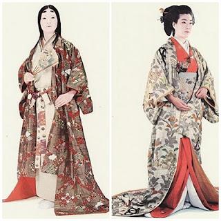 着付名人: 安土桃山時代の女子の服装 着付名人   安土桃山時代の女子の服装