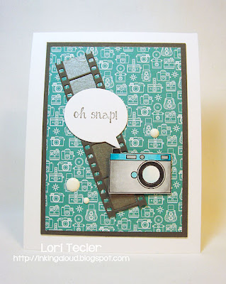 Oh Snap-designed by Lori Tecler-Inking Aloud-stamps from Taylored Expressions
