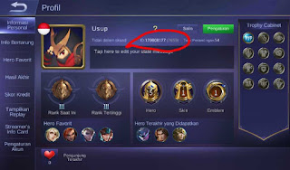 Cara mendapatkan hero freya dan top up di mobile legend