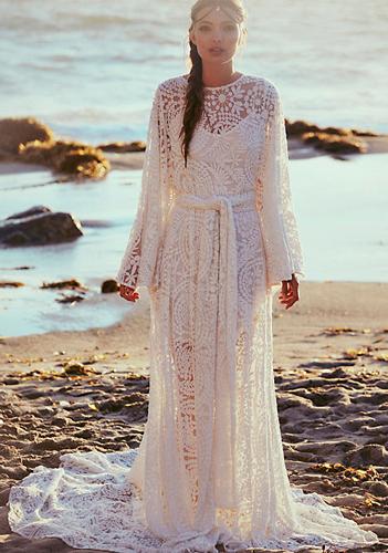vestidos de novia 2016 de free people - moda y bienestar