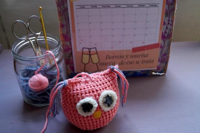 Buho-a-crochet
