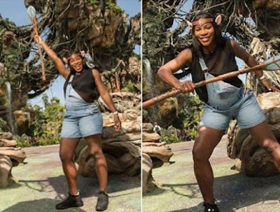 Image result for Check Out This Cute Photo Of Serena Williams Having Fun At Disneyland [Photos]