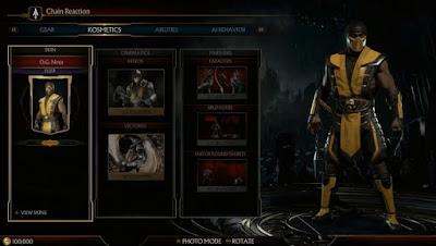 MK11 Personalizzazione Scorpion - Mortal Kombat 11