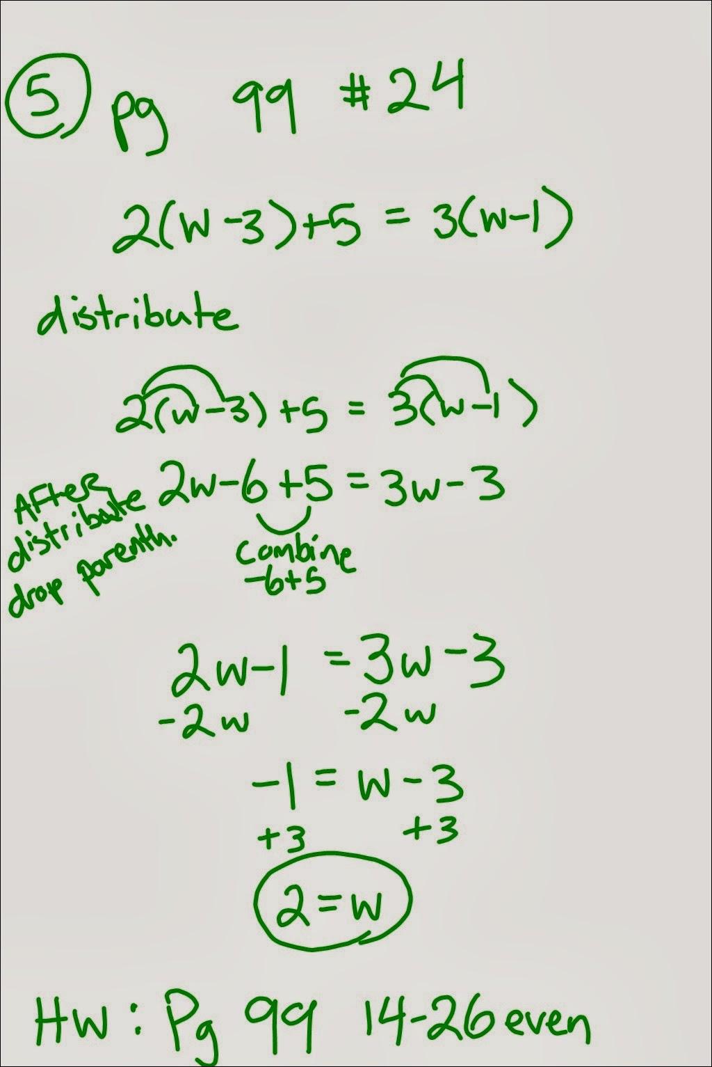 Mr Schoolar Math 10 1 13 9th Period