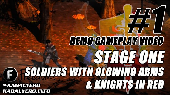 Sword Of Guardian Gameplay #1 (Game Demo) ★ Stage 1, Soldiers With Glowing Arms & Knights In Red