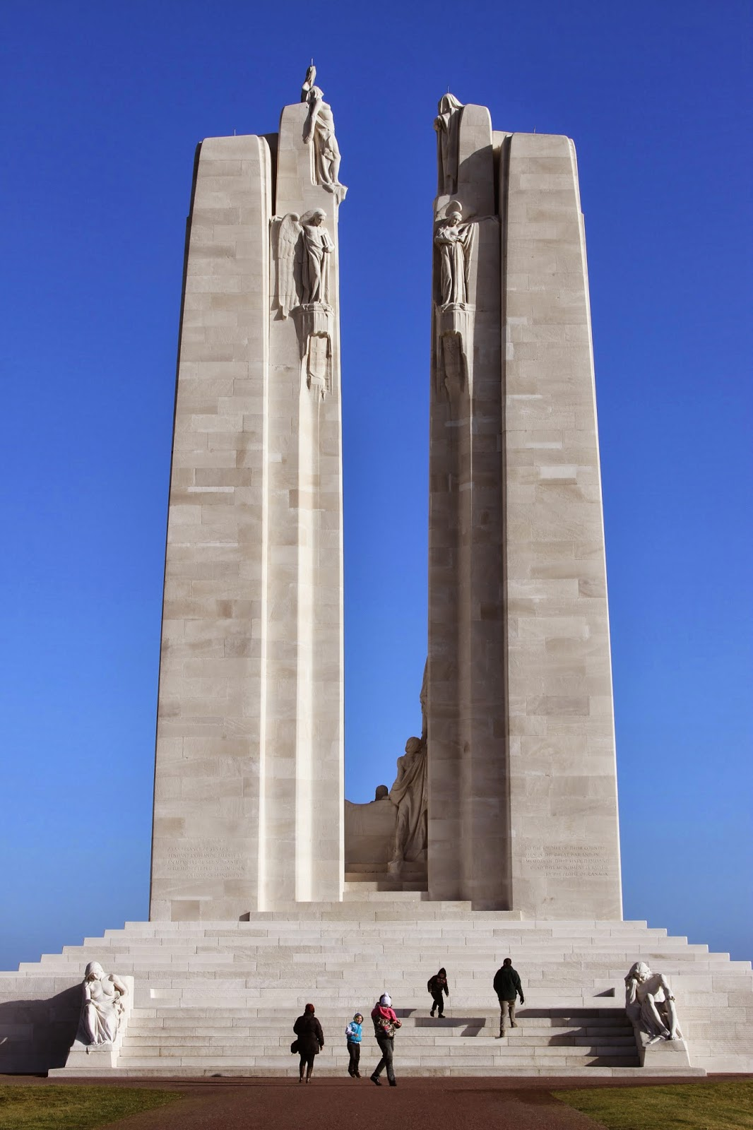 European Relocation Vimy Ridge Memorial Vimy France