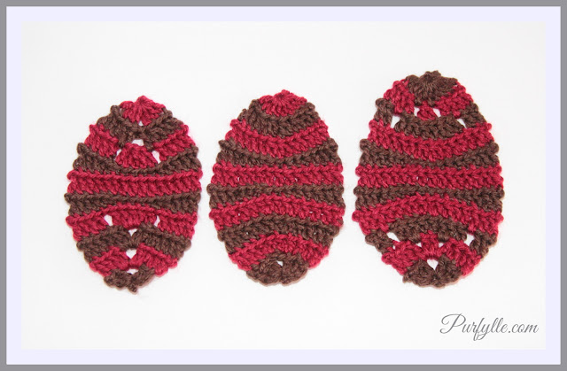 Easter Egg Crochet Motifs
