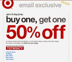 target coupon code may 2018